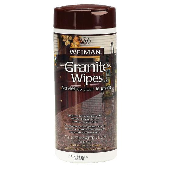 Weiman Granite Wipes - 30's