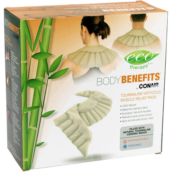 Eco Therapy BodyBenefits Hot Cold Muscle Relief Pack - Shoulders & Upper Back