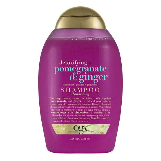 OGX Detoxifying + Pomegranate & Ginger Shampoo - 385ml