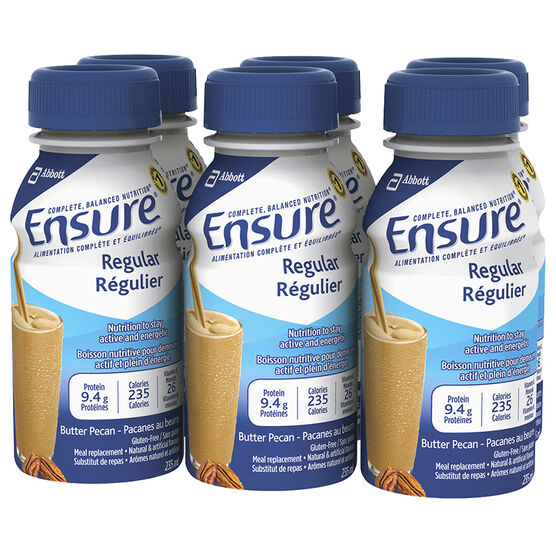 Ensure Regular - Butter Pecan - 6 x 235ml