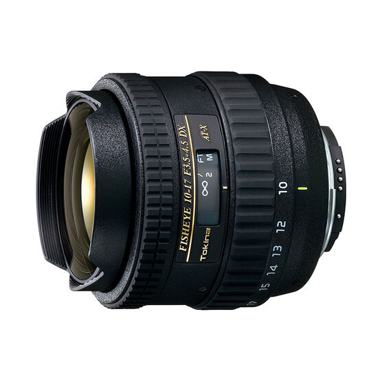 Tokina 10-17mm f/3.5-4.5 Fish-Eye Lens for Canon - TKATX107DXC