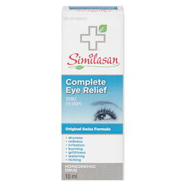 Similasan Complete Eye Relief Eye Drops - 10ml
