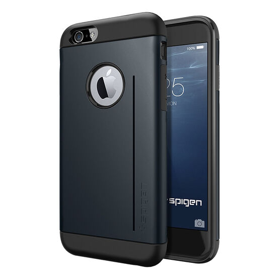 Spigen Slim Armor Case for iPhone 6 - Metal Slate - SGP10955