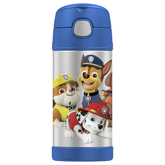 Thermos Paw Patrol Straw Bottle - Assorted - 355ml