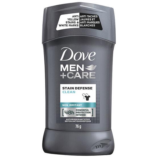 Dove Men+Care Invisible Antiperspirant Stick - 76g
