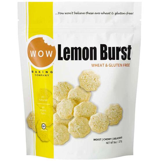 Wow Lemon Burst Cookies - Gluten Free - 227g