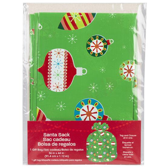 Christmas Santa Bag - Assorted