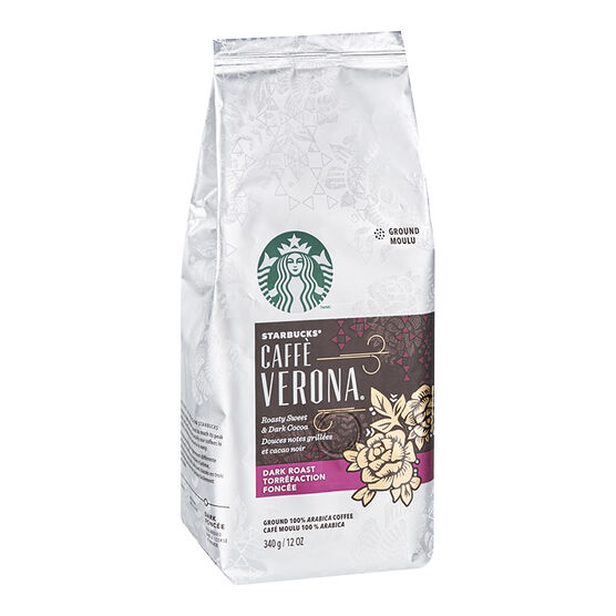 Starbucks Roast Ground Coffee - Verona - 340g