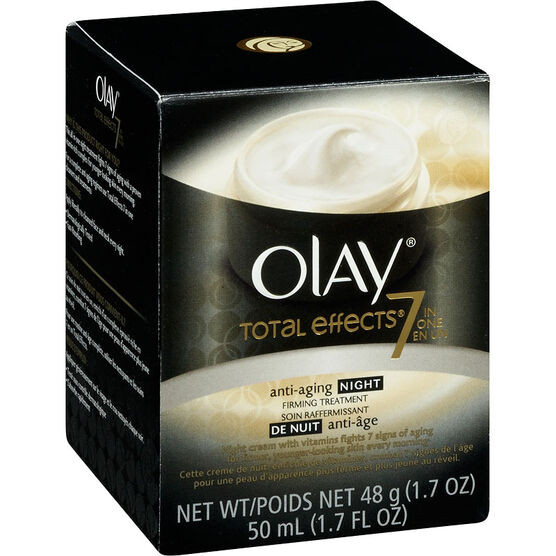 Olay Total Effects Anti-Aging Night Firming Treatment - 50ml