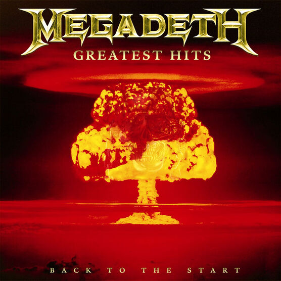 Megadeth - Greatest Hits: Back To The Start - CD