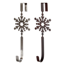 Winter Wishes Snowflake Wreath Holder - Assorted