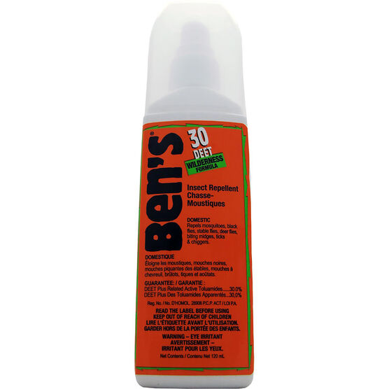 Ben's 30 DEET Wilderness Formula Pump - 120mL - 0007-7177