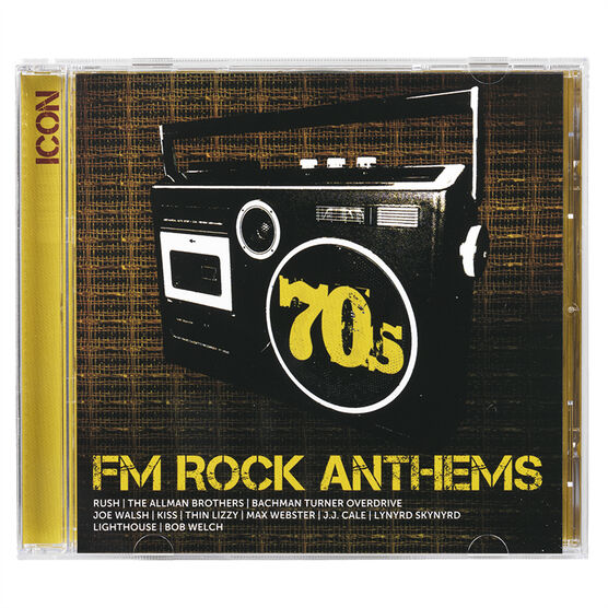 Various Artists - Icon: 70s FM Rock Anthems - CD