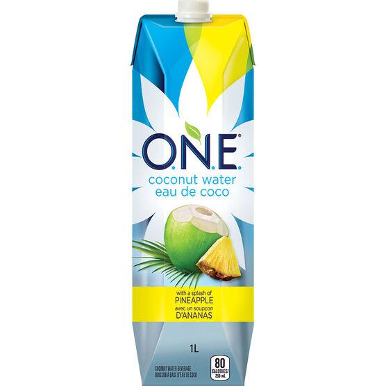 O.N.E. Pineapple Coconut Water - 1L