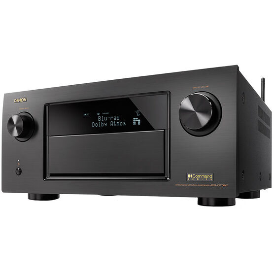 Denon 150W X 9.2 Command Receiver - Black - AVRX7200WA