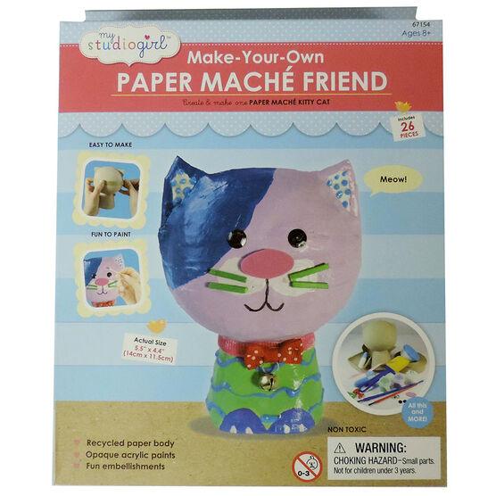 My Studio Girl Make Your Own Paper Mache - Cat