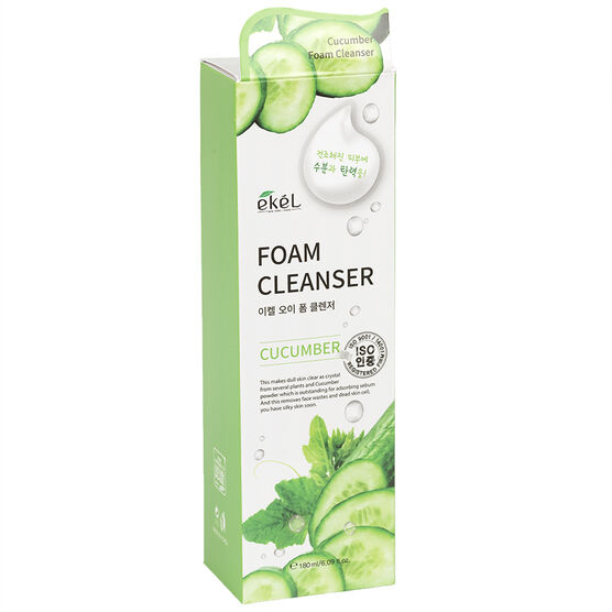 Ekel Foam Cleanser - Cucumber - 180ml