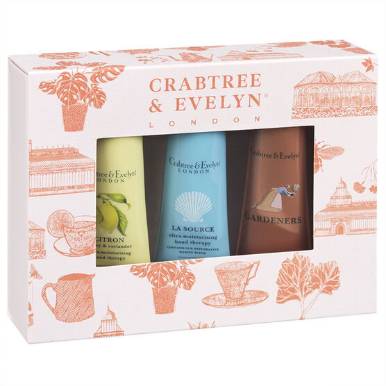 Crabtree & Evelyn Best Sellers Hand Therapy Sampler - 3 piece