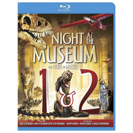 Night At The Museum 1-2 - Blu-ray