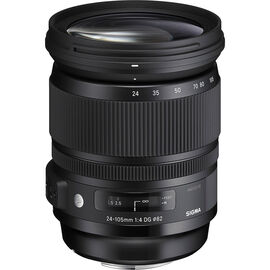 Sigma DG 24-105 F4 Optical Stabilization Lens for Sony - AOS24105AS