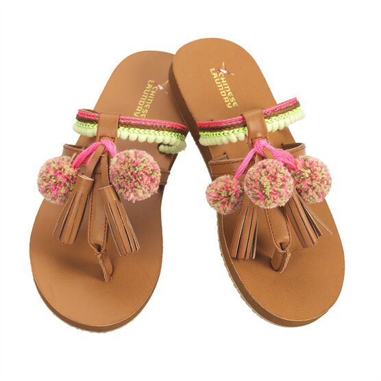 Chinese Laundry Fashion Thong Sandal - Tan