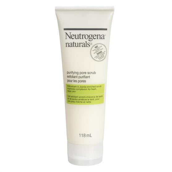 Neutrogena Naturals Purifying Pore Scrub - 118ml