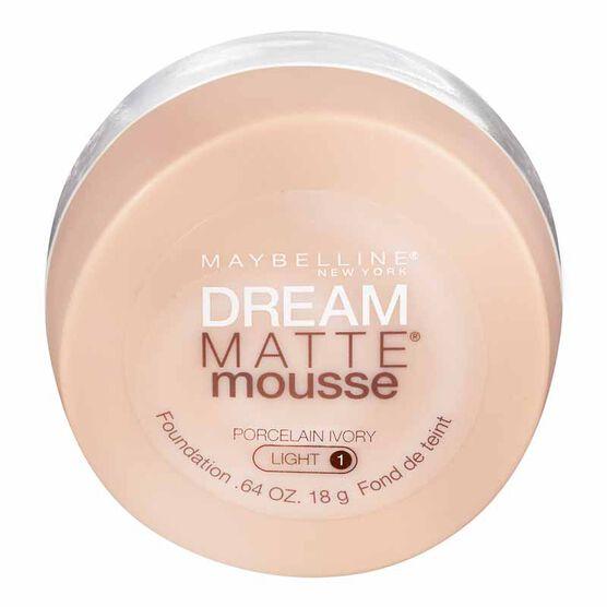 Maybelline Dream Matte Mousse Foundation - Porcelain Ivory