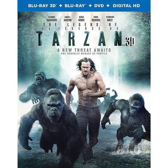 The Legend of Tarzan - 3D Blu-ray