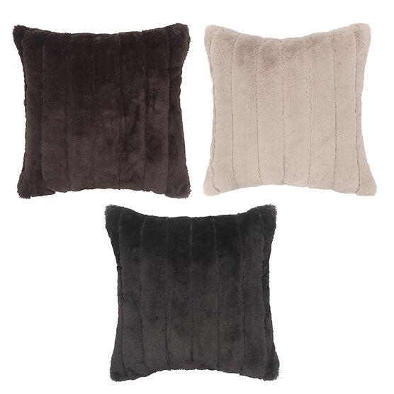 Sutton Place Fur Cushion - Assorted