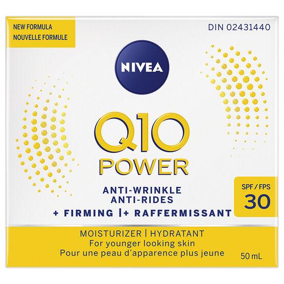 Nivea Q10 Plus Anti-Wrinkle Day Cream - SPF 30 - 50ml