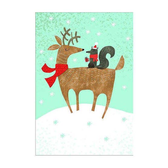 Unicef Christmas Cards - Reindeer - 12 count - Assorted