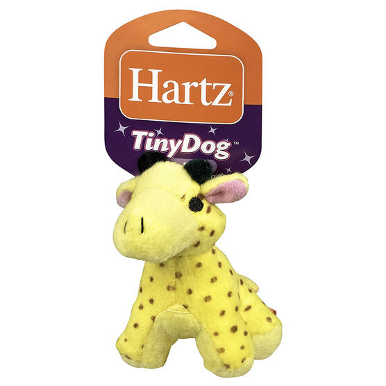 Hartz Tiny Dog Jungle Plush - Assorted