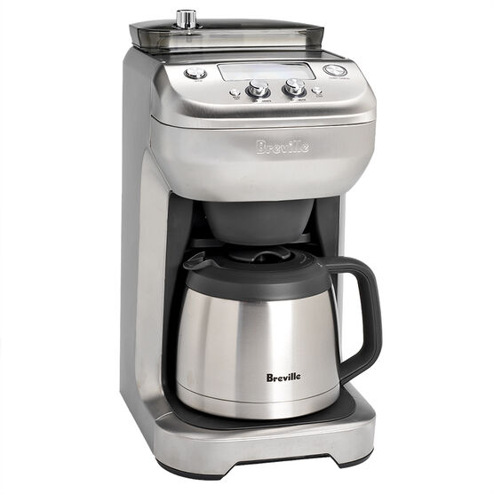 Breville Coffee Maker ~ Breville the grind control coffee maker brushed