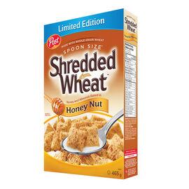 Post Shredded Wheat Cereal - Honey Nut - 465g