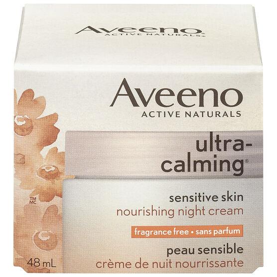 Aveeno Ultra Calming Night Cream - 48ml