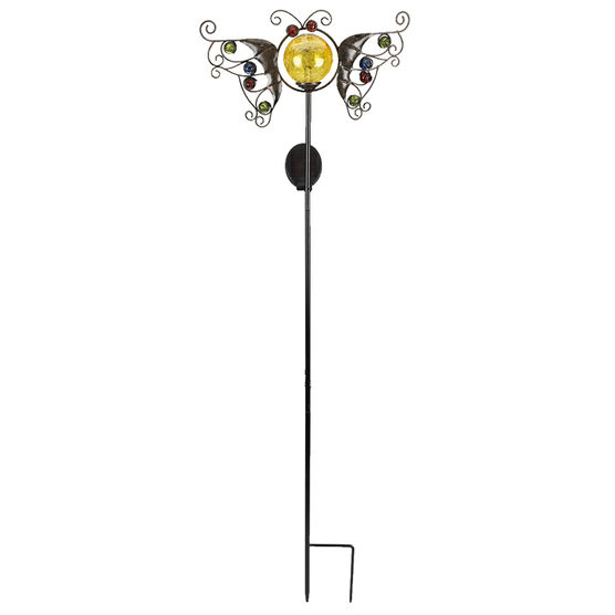 Fusion Solar Stake Light - Butterfly - Assorted
