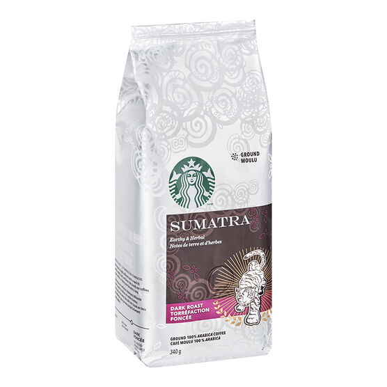 Starbucks Sumatra Ground Coffee - Dark Roast - 340g