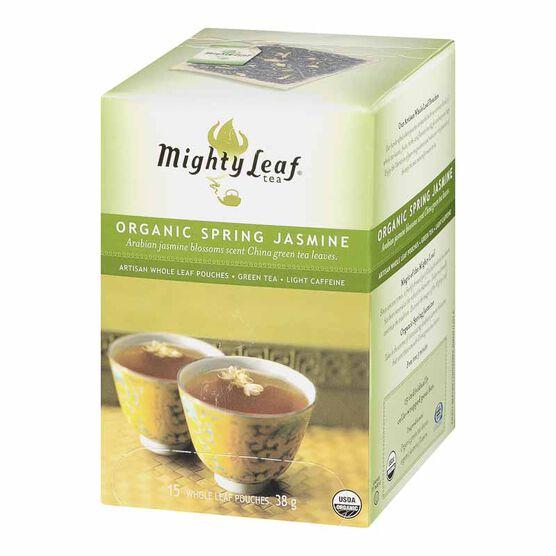 Mighty Leaf Organic Spring Jasmine Green Tea - 15's