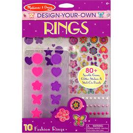 Melissa & Doug Design-Your-Own Rings - 9411