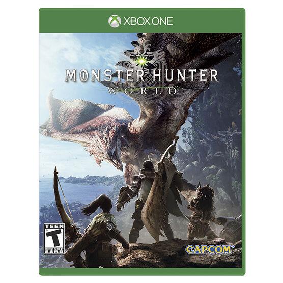 PRE ORDER: Xbox One Monster Hunter World