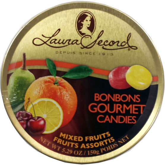 Laura Secord Gourmet Candies - Mixed Fruits - 150g