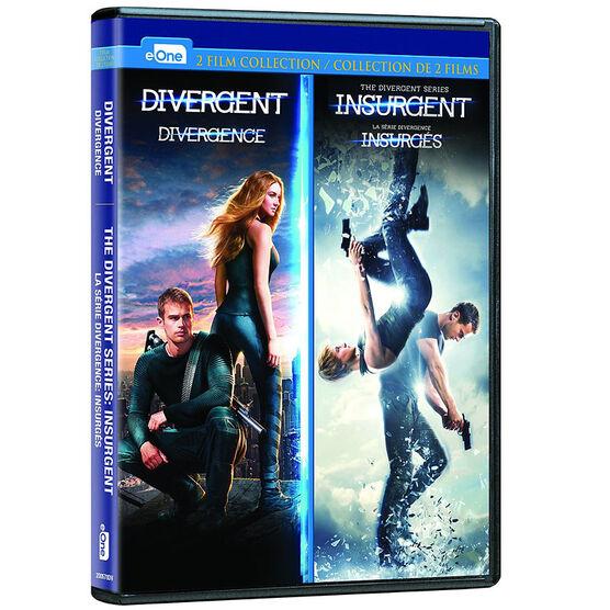Divergent / Insurgent Double Feature - DVD
