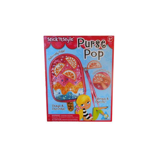 Stick 'n Style Purse Pop