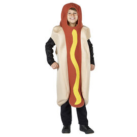Halloween Foam Hot Dog Costume - Kids