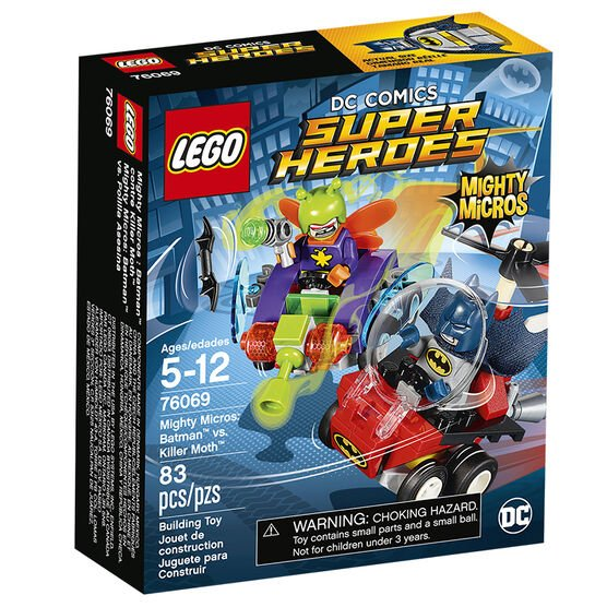 Lego Super Heroes Mighty Micros: Batman vs. Killer Moth - 76069