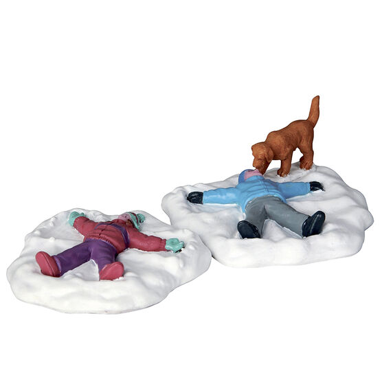 Lemax Snow Angels - Set of 2