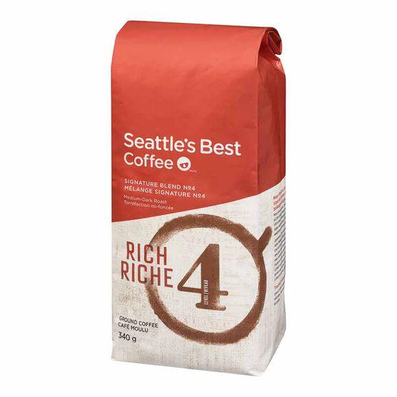 Seattle's Best Ground Coffee - Rich - 340g