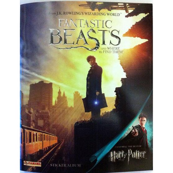 Harry Potter 8 Sticker Album - Fantastic Beasts