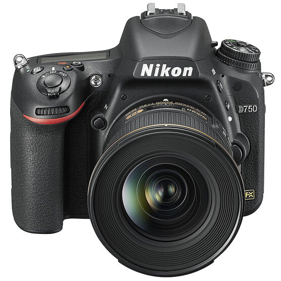 Nikon D750 Digital SLR Camera with Nikon AF-S FX 24-85mm f/3.5-4.5G ED VR Lens