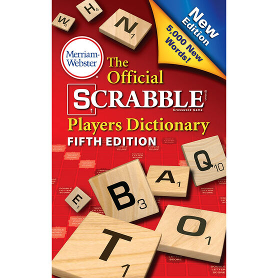 The Official Scrabble Players Dictionary: Fifth Edition